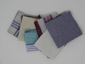 Bye bye le mouchoir en papier! Hello le mouchoir en tissu !