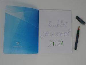 Un cahier papier transformé en bullet journal