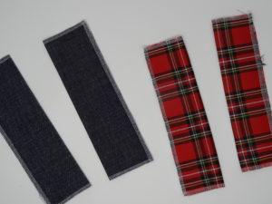 Tissu pochettes