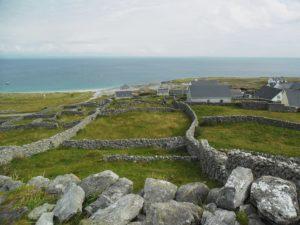Murets sur Inisheer, îles d'Aran