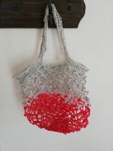 sac filet sugar mesh drops design