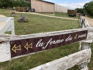 visite de la ferme des 4 vents