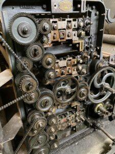 Engrenage machines filature de Belvès